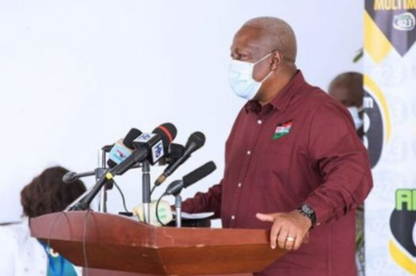 You can't ban me from your towns – Mahama to Akyem protestors