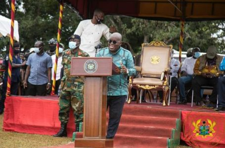 'Give me four more years to do more for you' – Akufo-Addo to Ahafo Region