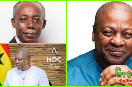 Mahama Expresses Concern To The Gruesome Murder Of Professor Emmanuel Yaw Benneh